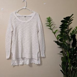 Free People simple knit sweater
